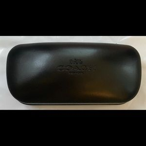 Coach Sunglasses Hardshell case clamshell black